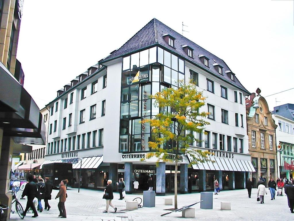 Modernisierung Fassade eines Geschäftshauses